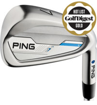 I 4-PW, UW Iron Set with Graphite Shafts