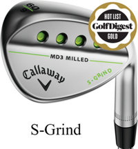 MD3 Milled Chrome Wedge