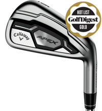 Apex CF 16 4-PW, AW Iron Set with Steel Shafts