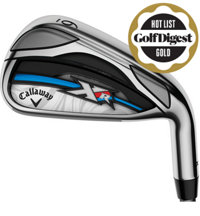 Lady XR OS 6-PW,SW Iron Set with Graphite Shafts