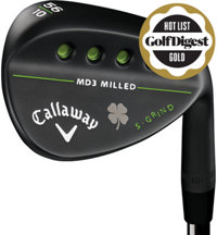 MD3 Milled Lucky Clover Wedge