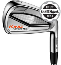 King Cobra Tec 4-PW, GW Iron Set with Graphite Shafts