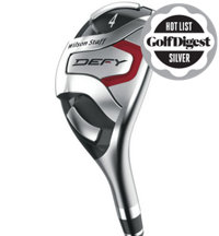 DEFY 4H-6H, 7-PW, GW Combo Iron Set with Steel Shafts