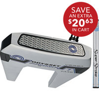 Works Versa Tank Putter with SuperStroke Grip