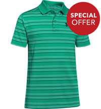 Boy's Tempo Stripe Short Sleeve Polo