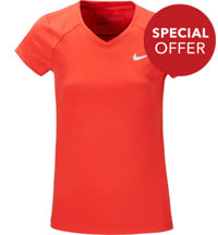 Girl's Nike Greens Short Sleeve Shirt