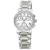 Bulova® Womens Diamond-Accent Watch 96R19