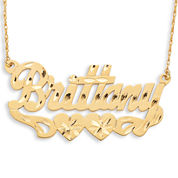 Personalized 12K Gold-Filled Name Necklace