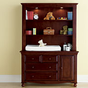 Bedford Baby Monterey Changing Table or Hutch - Cherry