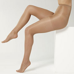 Sheer Caress™ 3-pk. Support Control Top Pantyhose