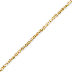 Made in Italy 14K Gold 1.1mm 18-20