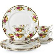 Royal Albert® Old Country Roses 12-pc. Dinnerware Set