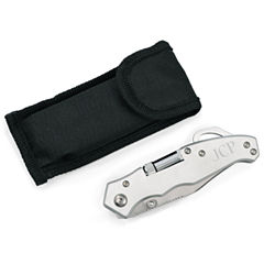 Engravable Pocket Knife with Light