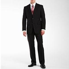 Adolfo® Black Striped Suit Separates