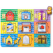 Melissa & Doug® Magnetic Hide & Seek Board