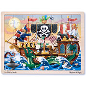 Melissa & Doug® 48-pc. Deluxe Wooden Pirate Puzzle