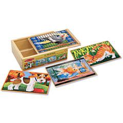 Melissa & Doug® Pet Puzzles in a Box