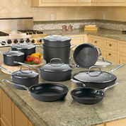 Cuisinart® 17-pc. Hard-Anodized Cookware Set