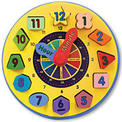 Melissa And Doug Time Toy
