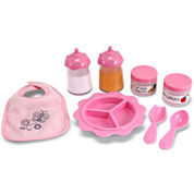 Melissa & Doug® Time To Eat Doll Feeding Set