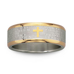 Men's Lord's Prayer Band Stainless Steel
