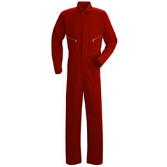 Red Kap Cc18 Zip Front Cotton Coverall Big And Tall