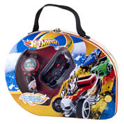 Hot Wheels Watch & Car Gift Set