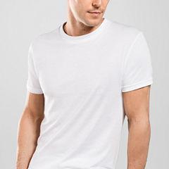 Stafford® 4-pk. Blended Cotton Crewneck T-Shirts