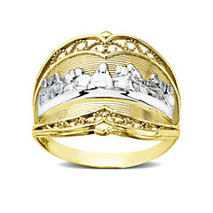 Last Supper 10K Gold Ring