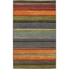 Mohawk Home® Rainbow Stripe Washable Runner Rug