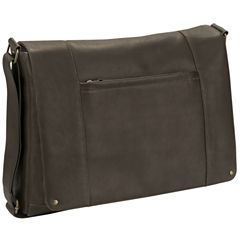 SOLO Leather Messenger Bag