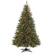 Pre-Lit Balsam Fir Christmas Tree