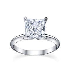 Diamonore™ Simulated Diamond Ring