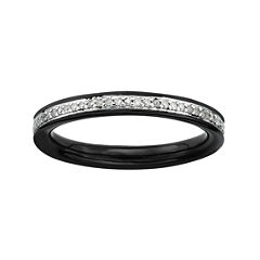 Personally Stackable 1/5 CT. T.W. Diamond Ring