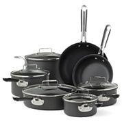Emeril® 12-pc. Hard-Anodized Cookware Set + BONUS