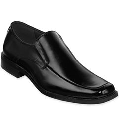 Stacy Adams® Cassidy Mens Moc-Toe Slip-On Leather Dress Shoes