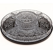 Dublin by Godinger Crystal Lazy Susan