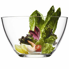 Michelangelo Collection By Luigi Bormioli Large Glass Serving Bowl