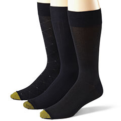 Gold Toe® 3-pk. Dress Rayon from Bamboo Socks–Big & Tall