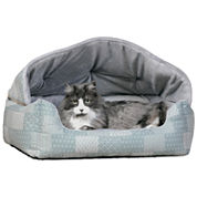 K & H Manufacturing Lounge Sleeper Hooded Pet Bed 20