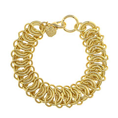 Monet® Gold-Tone Flex Bracelet