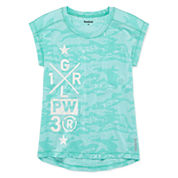 Reebok® Burnout High-Low Tee - Girls 7-16