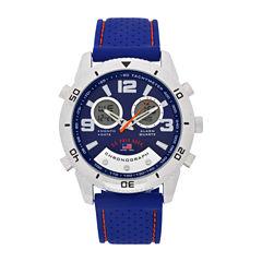 U.S. Polo Assn. Mens Blue Strap Watch-Us9667jc