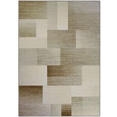 Multi Blocks Printed Rectangular Rug