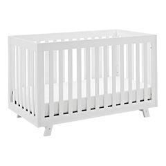 Status Beckett 3 in 1 Convertible Crib - White