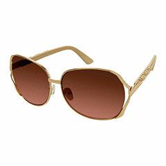 South Pole Oversized Round UV Protection Sunglasses