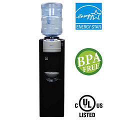 NewAir Pure Spring WAT30B BPA Free Hot Cold WaterDispenser