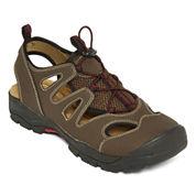 St. John's Bay® Cast Mens Bungee Strap Sandals