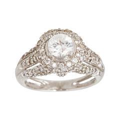 LIMITED QUANTITIES  Genuine White Zircon Ring