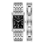 Citizen Mens Silver Tone Watch Boxed Set-Bh3000-68e